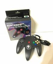 Nintendo Controller Bros. N64 Black FREE shipping Worldwide - $390.78