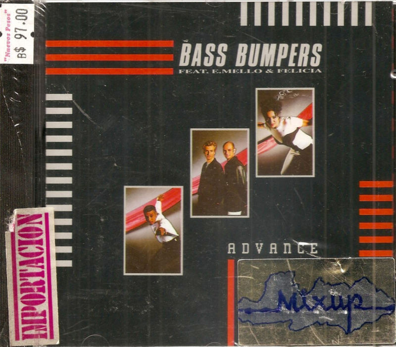 Bass Bumpers Advance new CD ZYX German dance techno