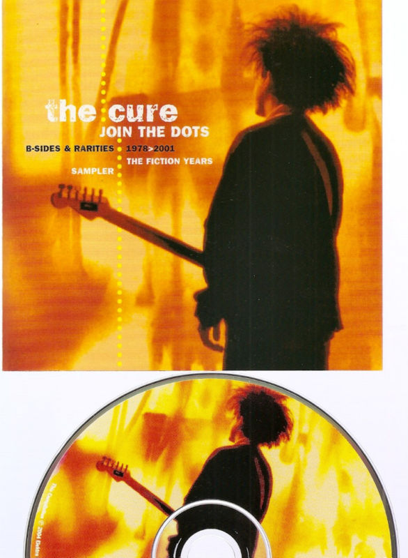 The Cure promo 1-disc sampler Join the Dots Rhino goth
