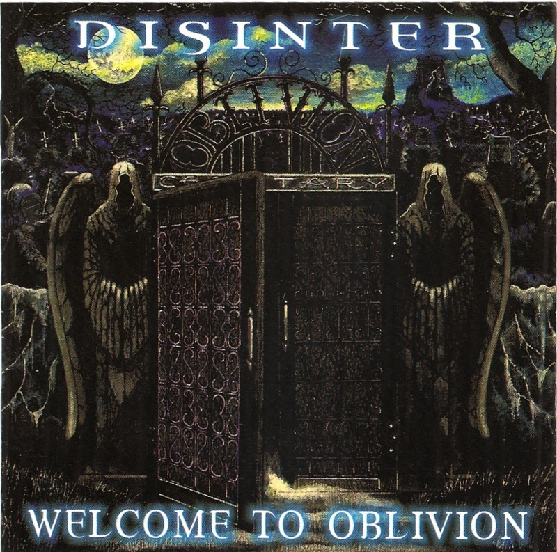Disinter Welcome to Oblivion CD brutal death metal 2000