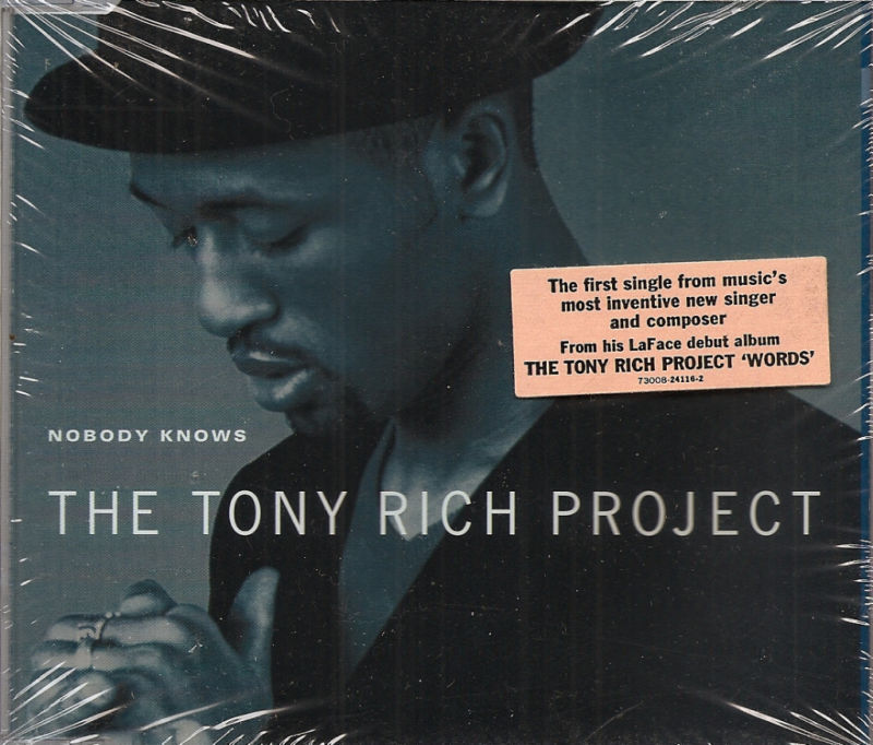 Nobody Knows Tony Rich Project sealed CD single 4 mixes