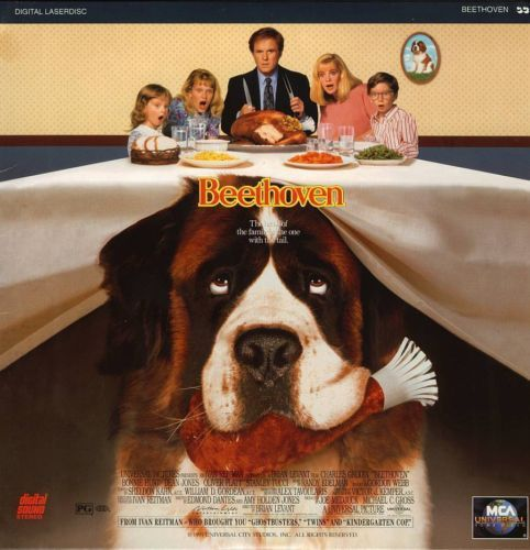 Primary image for BEETHOVEN BONNIE HUNT LASERDISC RARE