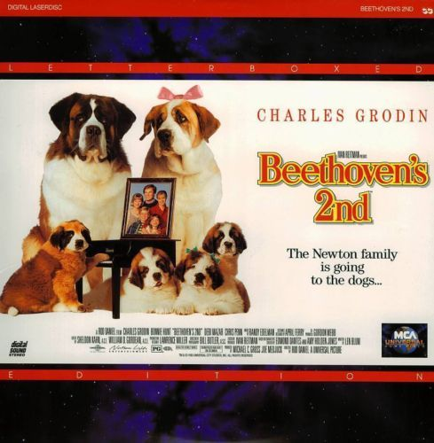 Primary image for BEETHOVEN'S 2ND LTBX BONNIE HUNT LASERDISC RARE