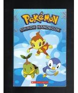 PokeMon Sinnoh Handbook, Softcover Book, 2007, Collectible - $5.00