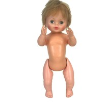 Vintage 1967 Little Miss Fussy Deluxe Reading Topper Baby Doll Battery O... - $25.83