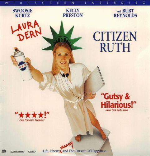 Primary image for CITIZEN RUTH LTBX  LAURA DERN  LASERDISC RARE