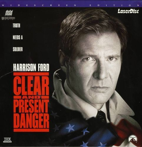 Primary image for CLEAR AND PRESENT DANGER LTBX HARRISON FORD  LASERDISC