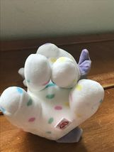 Gently Used Ty Sprinkles White with Pastel Confetti Plush Puppy Dog Stuffed Anim image 5