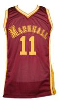 Hoop Dreams Movie Arthur Agee Basketball Jersey Sewn Maroon Any Size image 1