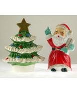 Santa and tree salt pepper set 1 thumbtall