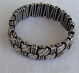Handmade silver a a