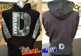 Duramax Hoodie Pullover Skull Design Chevi Truck Front Back - $48.95+