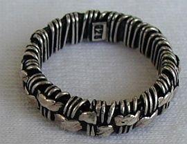 Handmade silver a
