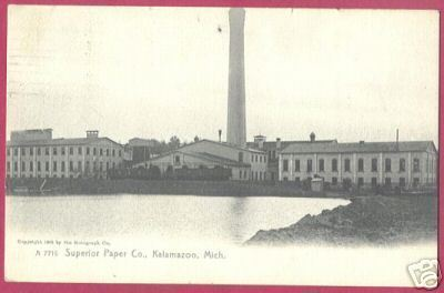Primary image for Kalamazoo MI Postcard Superior Paper Co Rotograph BJs