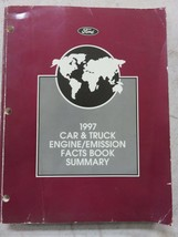 1997 Ford Car Truck Engine Emission Fact Book Summary OEM Factory Dealer... - $12.45