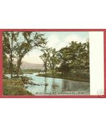 North Conway NH Saco River UDB Postcard BJs - $7.50