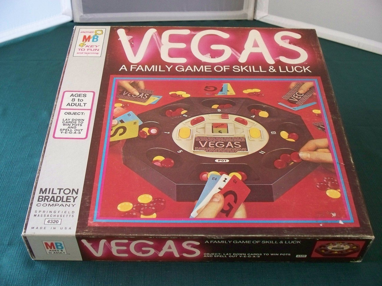 Primary image for Vegas Family Game Milton Bradley 1974 Complete