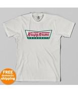 Krispy Kreme doughnuts retro logo T-shirt Adult... - $14.75