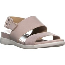naturalizer Emory Buckle Flat Sandals, Soft Marble, 6 US / 36 EU - $38.39
