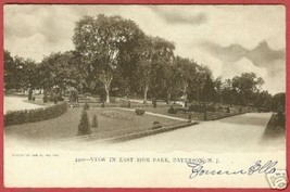 Paterson NJ East Side Park New Jersey UDB Postcard BJs - $10.00