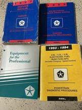 1993 Dodge Dakota TRUCK Service Repair Shop Manual Set W Diagnostic + Eq... - $89.05