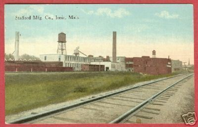 IONIA MI Stafford Mfg Co Michigan 1915 BJs