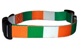 Medium Irish Flag Dog Collar - $12.00