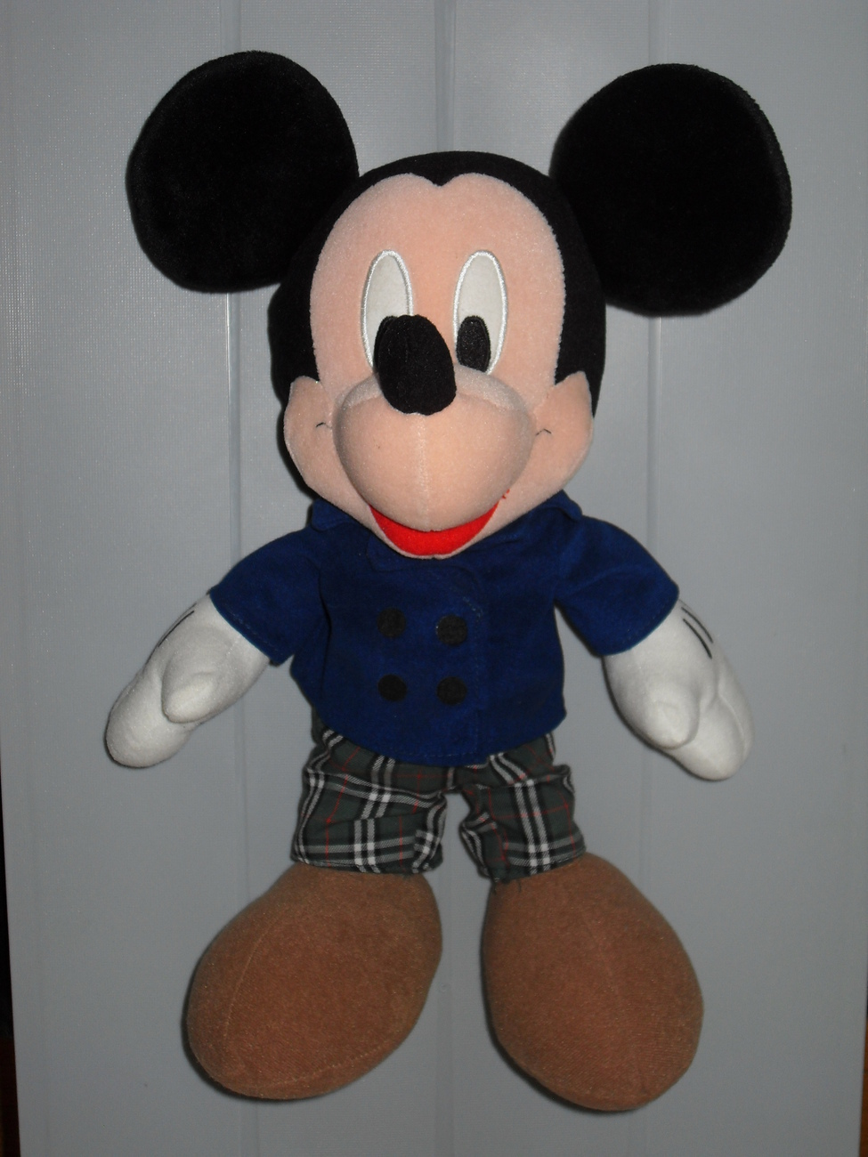 1999 Disney Sega Mickey Mouse Stuffed Toy