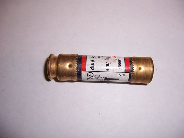 FRN-R-30 cartridge fuse 30 amp 250 volt Time Delay