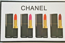 Chanel Lipstick 4 lipstick SGift Collection Rare Boxes Brand New Fast Shipping - $41.58