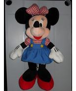 1998 Disney Sega Minnie Mouse Stuffed Toy  - $12.99