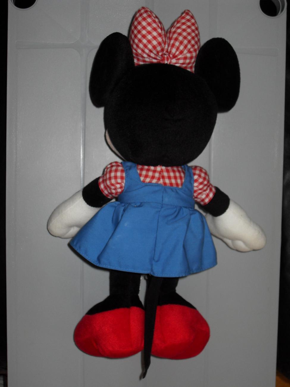 1998 Disney Sega Minnie Mouse Stuffed Toy