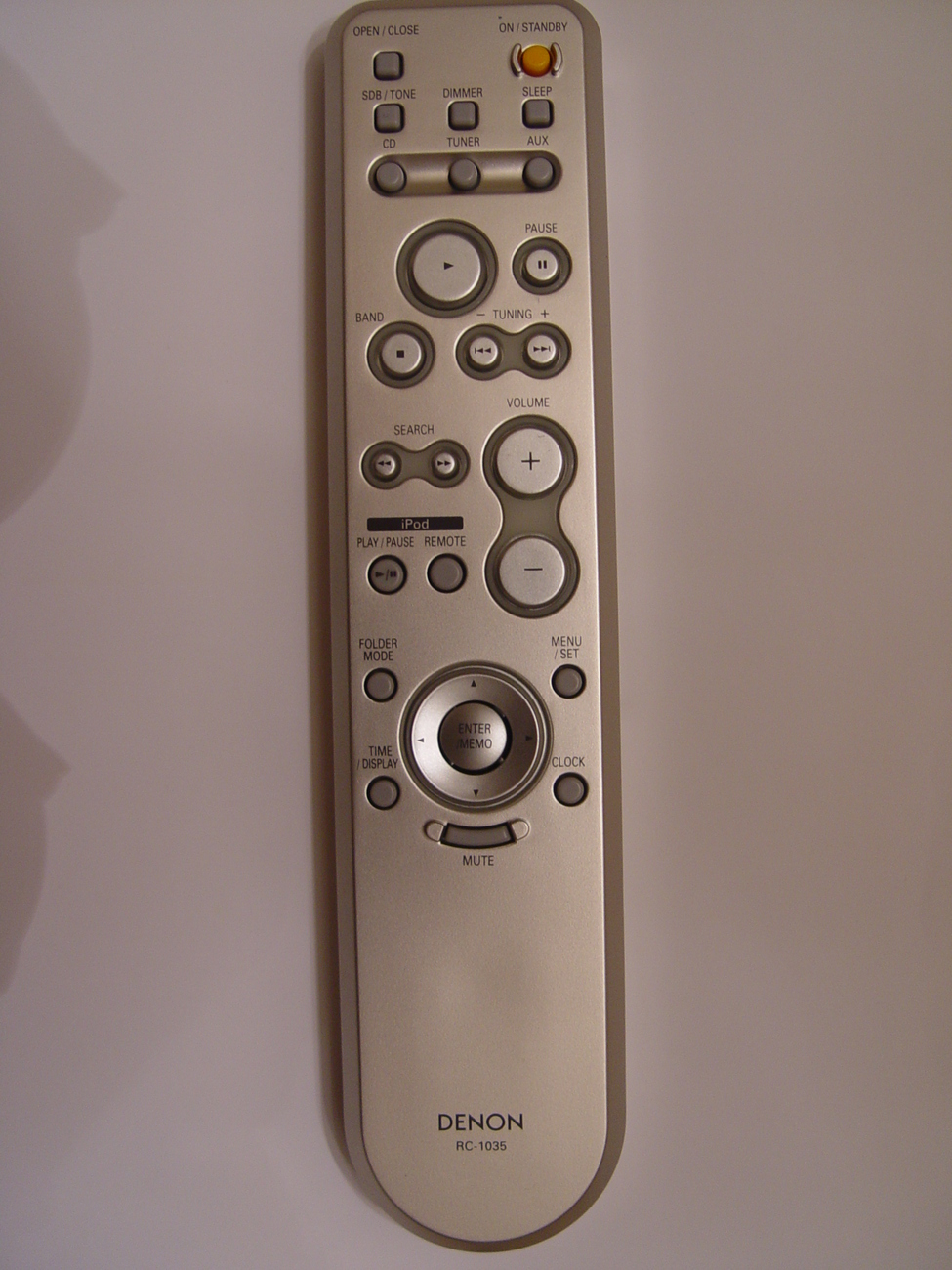 Primary image for Denon RC-1035 Remote Control Part # 3991062002