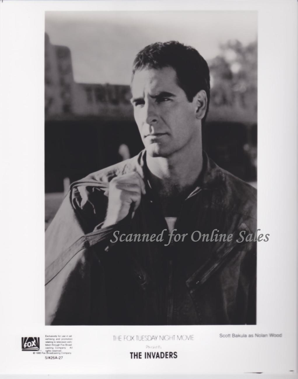 Primary image for Scott Bakula The Invaders 8x10 Photo