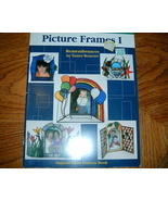 Aanraku Stained Glass Pattern Book Picture Frames Vol 1 - $7.50