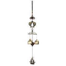 (03)National Style Chinese Lucky Carillon De Jardin Wind Bell Outdoor Living Win - $20.00