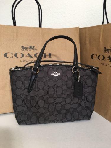 866a9e765d4cf NWT COACH F57830 Mini Kelsey Signature and 50 similar items. 12