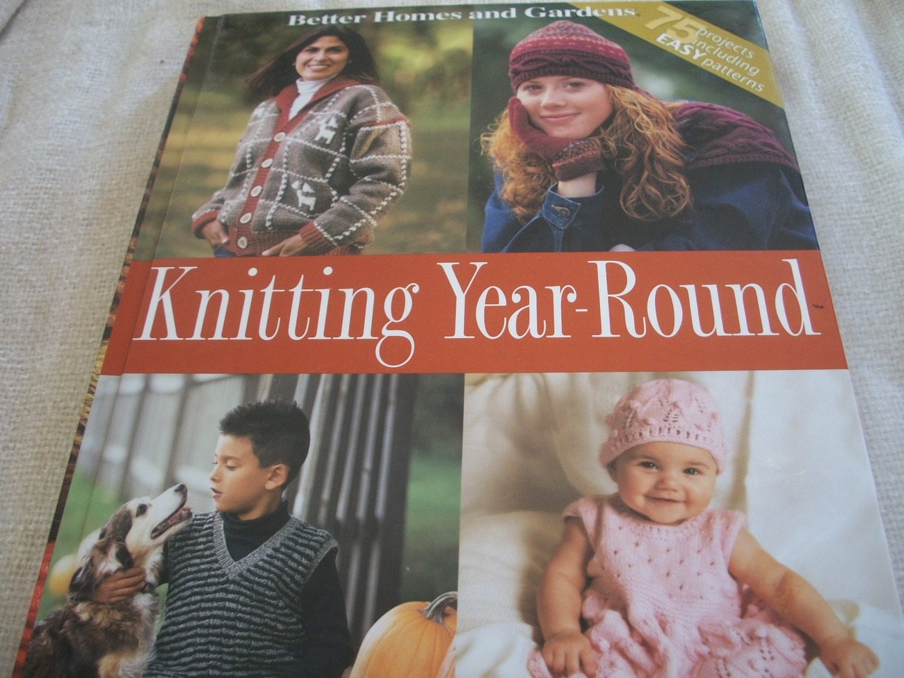 Primary image for Better Homes and Gardens Knitting Year-Round Book