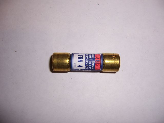 Primary image for FRN-R-4 cartridge fuse 4 amp 250 volt Time Delay