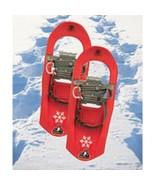 Yukon Charlie's Junior Snowshoes 7x16 Red EUC - $43.64