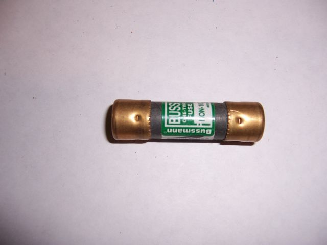 NON 10 cartridge fuse 10 amp 250 volt One Time Lot of 2