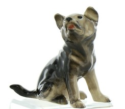 Hagen Renaker Pedigree Dog German Shepherd Puppy Ceramic Figurine