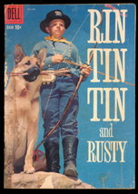 """Rin Tin Tin & Rusty"" Feb-Mar 1959 Comic Book - $8.95"