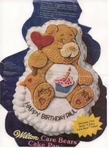 Wilton Care Bears/Friend Bear/Cheer Bear Cake Pan (2105-1793, 1983) - $24.99