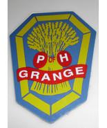 Vintage Patrons of Husbandry Grange P of H Plastic Sticker - $6.49