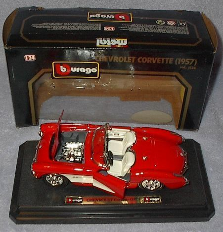 Bburago Makita Collectible Chevrolet 1957 Corvette 1/24