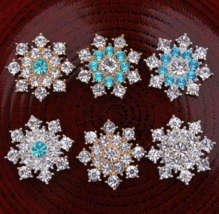 10pcs Accessories buttons,phone alloy buckles,Rhinstone buttons,Hairwear buckle - $15.40