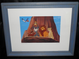 1994 Disney Lion King The Circle Continues Framed Picture - $39.99