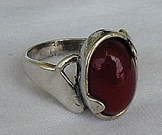 Primary image for Red silver ring E