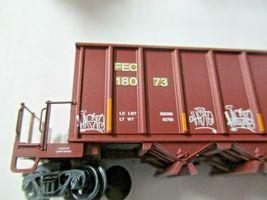 Micro-Trains # 12544140 Florida East Coast Weathered 43' Rapid Discharge N-Scale image 3